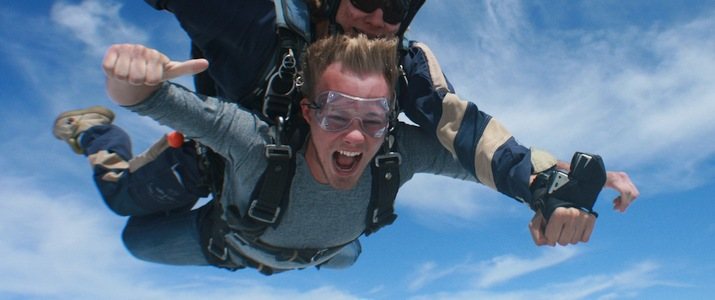 Saut en parachute Quepos Manuel Antonio Ciel Sensation Tandem