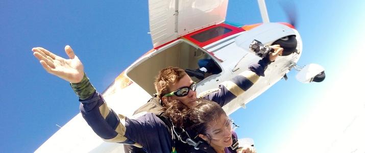 Saut en parachute Quepos Manuel Antonio Ciel Sensation Avion