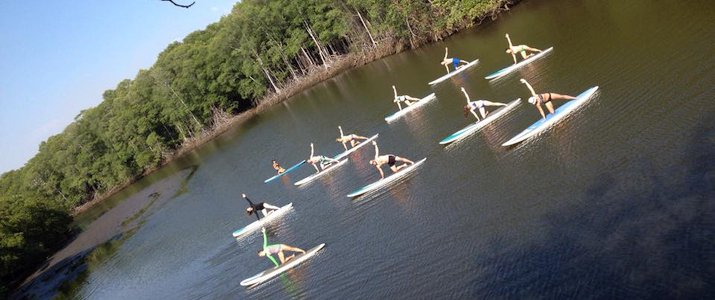 Pargos Adventures - Stand-Up Paddle Yoga