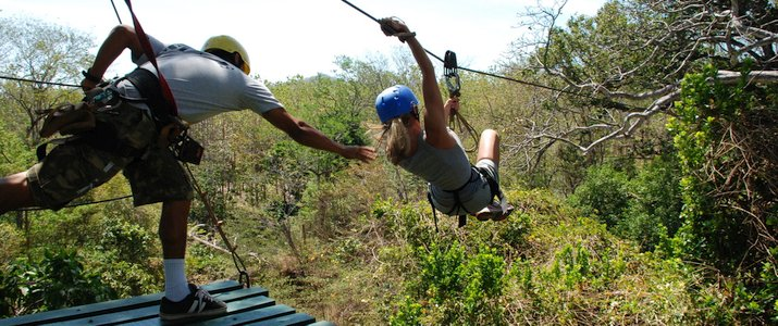 Pinilla Canopy Tour - Lancement