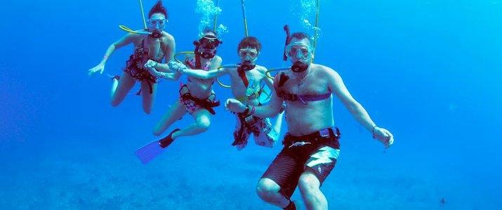 Snuba Costa Rica Sous l'eau