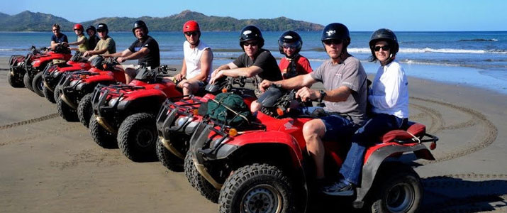 Tico Adventures Tours quad plage