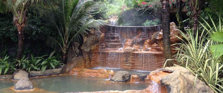 The Springs Resort & Spa mini cascade