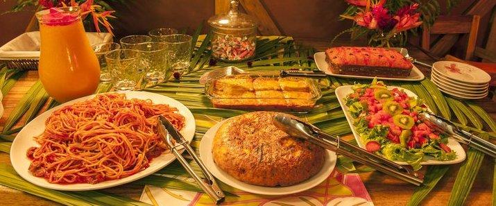 La Ceiba Bosque Primario Tours (Centro de Rescate Jaguar) - Repas