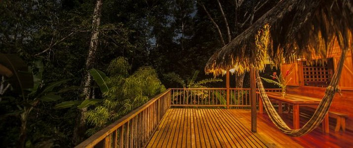La Ceiba Bosque Primario Tours (Centro de Rescate Jaguar) - Terrasse