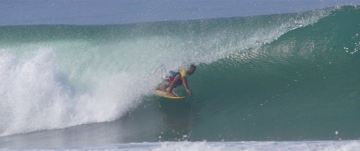 Dominical Surf Adventures - Surf vague paficique mer tube