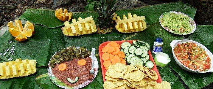 Dominical Surf Adventures - Déjeuner ananas