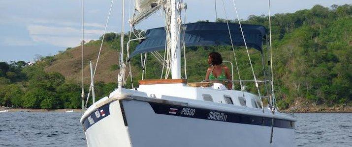 Casa Mariquita voilier océan terre jungle plage