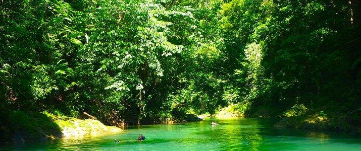 Pacheco - The Floating Tour Osa Corcovado Bahia Drake Bay Rivière émeraude jungle