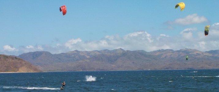 Kite Boarding Costa Rica Bahia Salinas Guanacaste Playa Copal Riders Ride Ocean