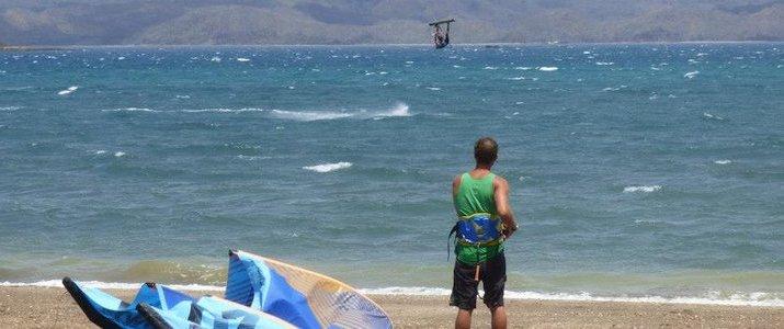 Kite Boarding Costa Rica Bahia Salinas Guanacaste Playa Copal Riders Ride Ocean Jump Plage