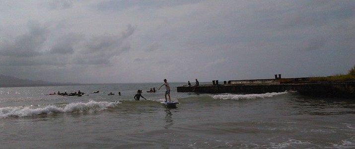 Caribbeans Surf School and Shop Caraïbes Sud Playa Cocles Puerto VIejo de Talamanca Limon Cours