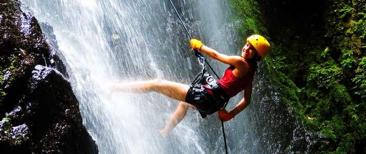 cascade, rappel, nature, sécurité, corcovado, osa, puerto Jimenez, activité, costa rica