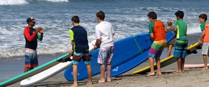 C&C surf planche cours sable