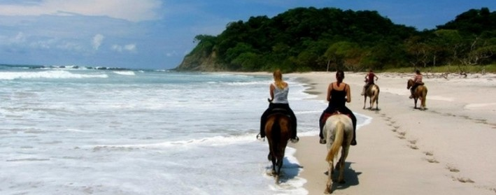 Horse Jungle balade cheval plage sable