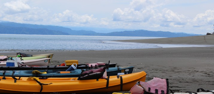 Aventuras Tropicales kayak plage
