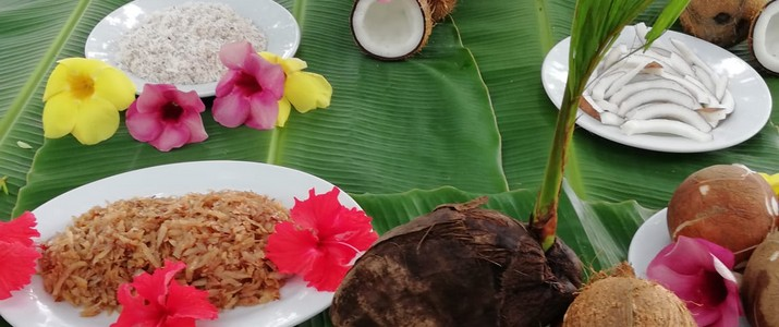 Tour de coco - plats