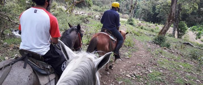 Calbagata los felos San Gerardo de dota balade à cheval