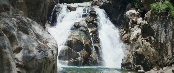 Talamanca Nature Reserve San Gerardo de Rivas cascade