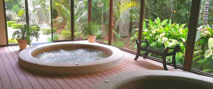 Del Rio Spa San Gerardo de Dota bains