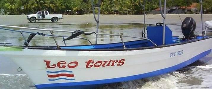 Léo Tours Samara Nicoya bateau
