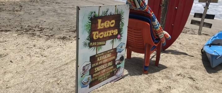Léo Tours Samara Nicoya surf