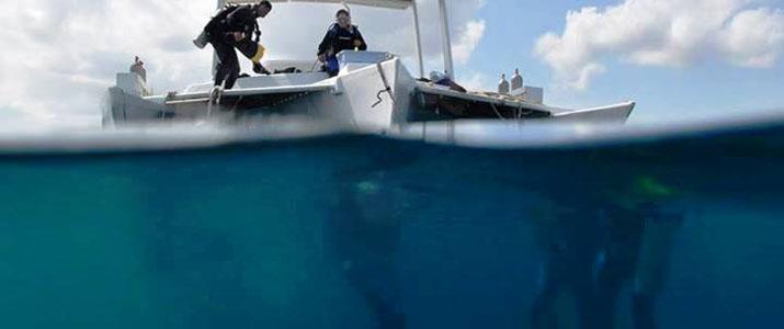Rich Coast Diving bateau