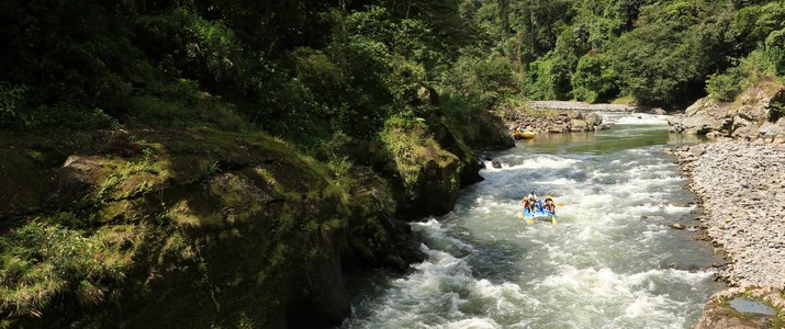 Tico's River Adventures Turrialba descente