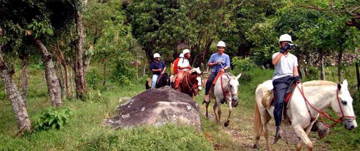 Vista Golfo Adventure Park 2 Alt  chevaux balade