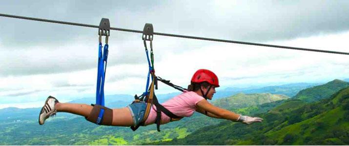 Vista Golfo Adventure Park 3 Alt tyrolienne