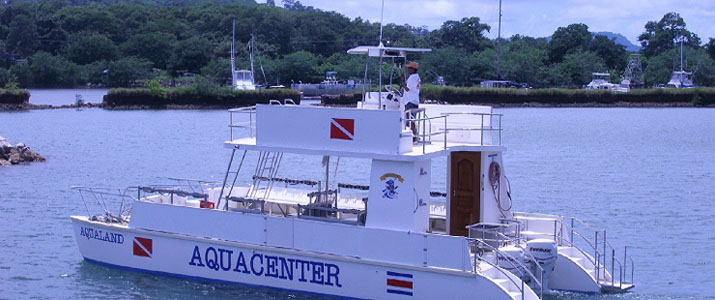 Aquacenter Diving bateau
