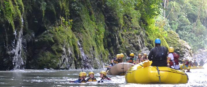 Rios Tropicales Rio la Virgen rafting