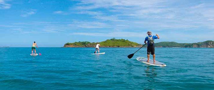 Point Break Surf School paddle