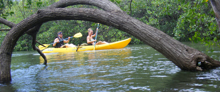 Arenas Adventures kayak