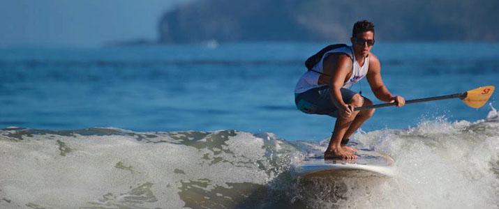 Kelly's Surf shop paddle