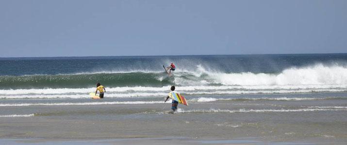 Kelly's Surf shop plage vagues