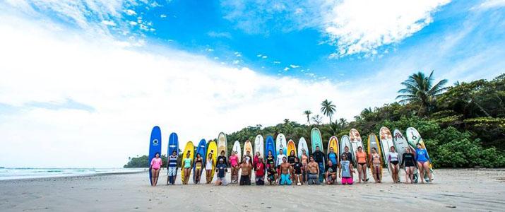 Adrenalina école de surf plage
