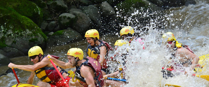 Rios Tropicales - Rio Pacuare rafting rivière rapides