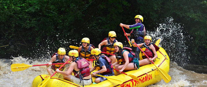Rios Tropicales - Rio Reventaz rafting rivière rapides