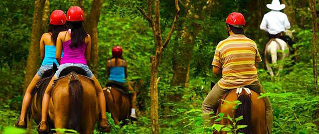 Vandara Hot Springs Adventure cheval