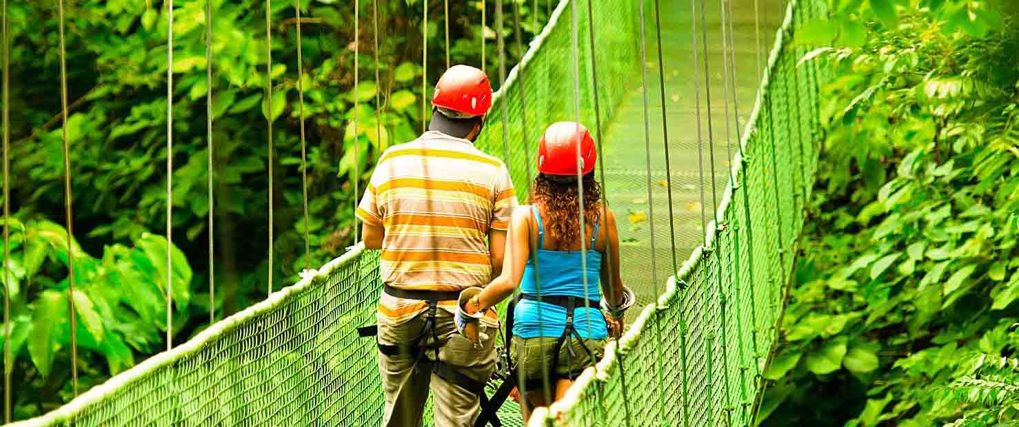 Vandara Hot Springs Adventure pont nature
