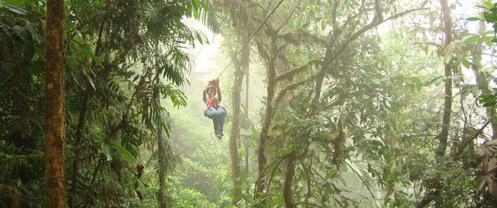 San Luis canopy tyrolienne