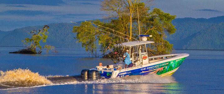 The Zancudo Lodge Tour pêche sportive plongee