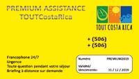 Carte Premium Assistance ToutCostaRica