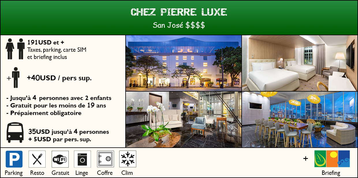 Chez Pierre Luxe Victorien Elegant Memorable à partir de 210USD petit dejeuner taxes parking et briefing inclus +14USD/Personne supplementaire jusqu'à 5 personnes gratuit pour les moins de 2 ans prépaiement obligatoire