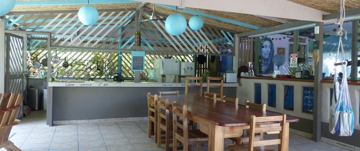 Hamac Colibri Rouge Cahuita Caraïbes Sud Espace Jardin