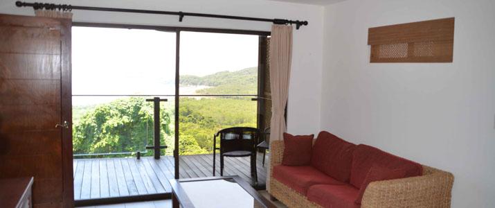 Vista las islas salon et terrasse