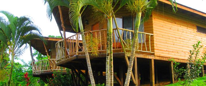 Pedacito de Cielo Boca Tapada Cabinas en Bois sur piloti Jungle