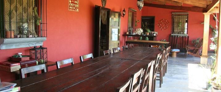 Aroma de Campo Hotel Costa Rica Table