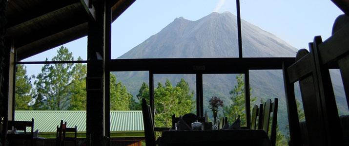Arenal Observatory Lodge El Castillo La Fortuna Volcan Vue Restaurant